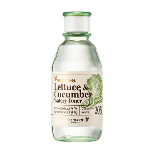 Toner rau diếp dưa leo Premium Lettuce & cucumber toner Skinfood